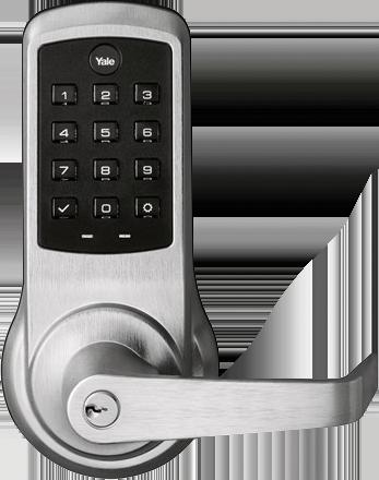 Secure valet parking stand - Locking system