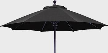 Secure valet parking stand - optional umbrella
