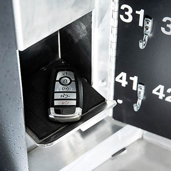 Secure valet parking stand - Defender Key Drop