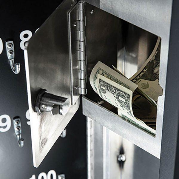 Secure valet parking stand - Defender tip box