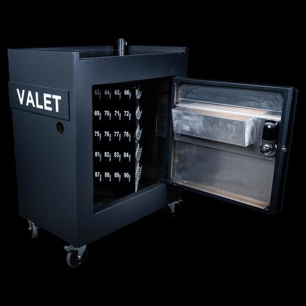Secure valet parking stand - Sentinel 40 - internal shot