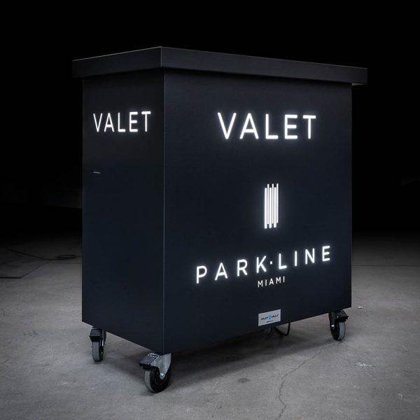 Secure valet parking stand - Defender 50