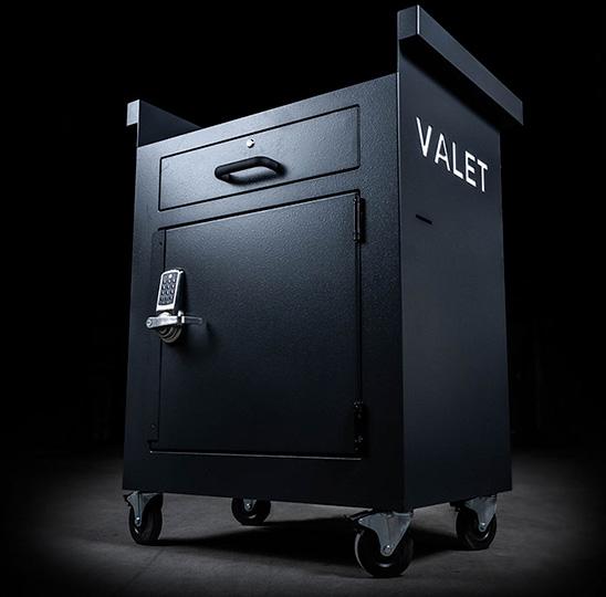 Valet Vault secure valet parking stand